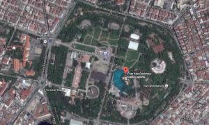 A park maps-távlatból